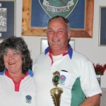 Lynn McComb (President) and Greg Young, Most involved club member.