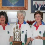 Lynn McComb, Sarie Lessing and Eliana Hattingh Ladies Fours Winners 2011(Bets Folker absent)
