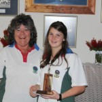 Lynn McComb and Jackie Rabie Most improved player 2011