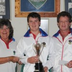 Lynn McComb (president),Willem and George Fick, Men's pairs winners.